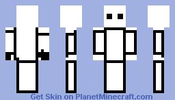 white thing Minecraft Skin