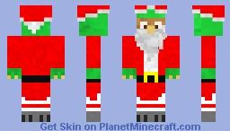 Christmas Dino Minecraft Skin