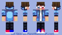 Target3DGaming ( skin Remake) Minecraft Skin