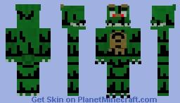 Nightmare Dino Minecraft Skin