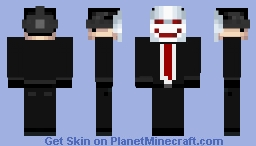happy mask Minecraft Skin