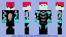 Freezing Dragon   My Christmas Skin Minecraft Skin