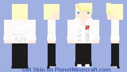 Teddie (Persona 4) Minecraft Skin