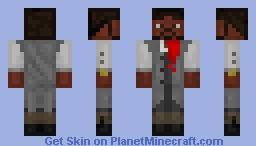 Steampunk Gallantry Personnel Minecraft Skin