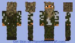 Oriental street bum or terrorist. Minecraft Skin