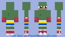Ukrainian boxer Minecraft Skin