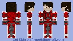 Vexus Warframe Minecraft Skin