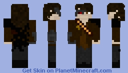 Western Cyborg Bounty Hunter Minecraft Skin