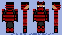 The Samuraï Minecraft Skin