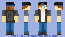 Skin I made for Yqah with cap Minecraft Skin