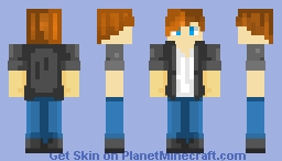 Skin I made for Yqah without cap Minecraft Skin