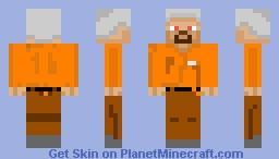 Prisoner Steve [Minecraft Skin] Minecraft Skin