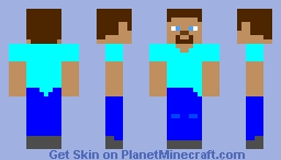 My take on Steve. Minecraft Skin
