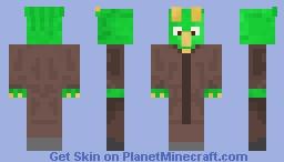 Dino Villager (Contest entry) Minecraft Skin