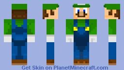 Luigi [Super Mario Skin Pack] Minecraft Skin