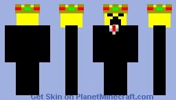 Golden Creeper (King) Minecraft Skin