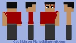 One Punch Man Metal Bat(garou fight) Minecraft Skin