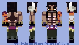 Kaido In His Human Form ( One Piece) Minecraft Skin