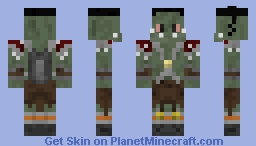 Orc Axe Rusher Minecraft Skin