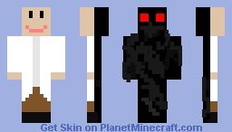 Shadow Mutant Minecraft Skin