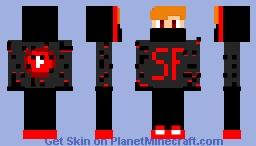 shadow is on YOUTUBE!!! Minecraft Skin