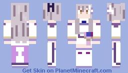 Re:Zerolia! Yukina Minato - Cool - I Want to Hold The Cat's Hand Minecraft Skin