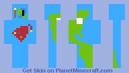 PMC Globe Minecraft Skin