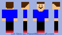 Speedy boi Minecraft Skin