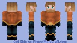 Aquaman - Arthur Curry || Justice Craft Skin Minecraft Skin