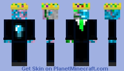 Drown Lin (Wearing a suit) Minecraft Skin