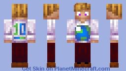 PMC 10 Years Shirt Minecraft Skin