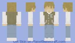 Jacket (No Mask) Minecraft Skin