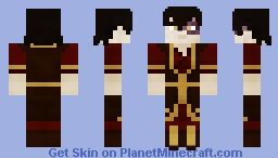 Zuko | Avatar: The Last Airbender | S3 | 1.8+ Minecraft Skin