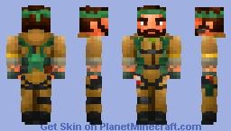 Frank Woods Minecraft Skin