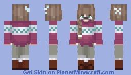 christmas... yai! Minecraft Skin