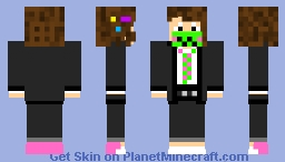epic gamer but in a suit this time Minecraft Skin