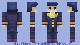 Josuke Higashikata | Diamond Is Ubreakable Minecraft Skin