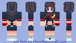 Ugh Fine, I Guess You Are My Little Pogchamp ( Ryuko Kill La Kill ) Minecraft Skin