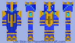 Germanischer Wassergott Njoerd Minecraft Skin