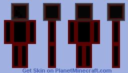 glass head frame Minecraft Skin
