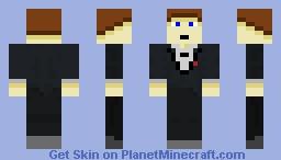 Miles4Daze in a Suit Minecraft Skin