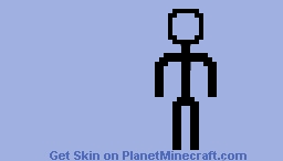 stick-man Minecraft Skin