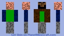 Derp face Minecraft Skin