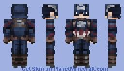 Captain America | Captain America: Civil War Minecraft Skin