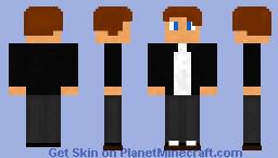 Suited Link Guy Minecraft Skin