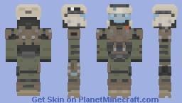 Halo Reach | Marine v2 Minecraft Skin