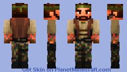 Frank Woods - Broken Arrow Minecraft Skin