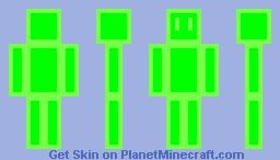 Helium Stick Figure Minecraft Skin
