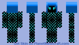 Ice Man Minecraft Skin
