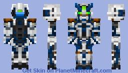 Gundam Astray Blue Frame Second G Minecraft Skin